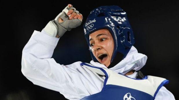 Raheleh Asemani nació en Irán pero huyó del país y se refugió en Bélgica, donde era cartera antes de viajar a competir en Río. (Foto: BBC)