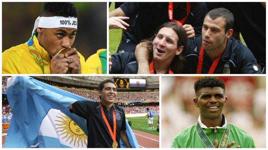 JJ.OO.: el once ideal de futbolistas que ganaron oro [FOTOS]