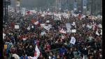 La protesta de cientos de miles de chilenos contra las AFP - Noticias de afiches