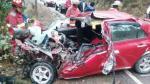 Ocho personas muertas tras choque frontal en vía Arequipa-Puno - Noticias de placas de rodaje