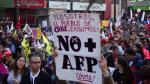 Chile: Así fue la marcha contra el sistema de pensiones [VIDEO] - Noticias de ley del retorno