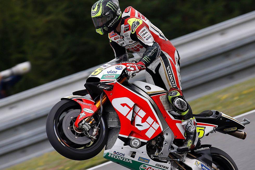 Otro triunfo histórico se logró en el MotoGP. (fotos: LCR Honda Team)