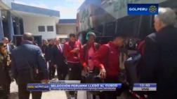 Selección peruana arribó a Cusco para iniciar aclimatación