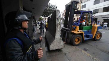 Cierran paraderos informales de colectivos Lima-Chosica [FOTOS]