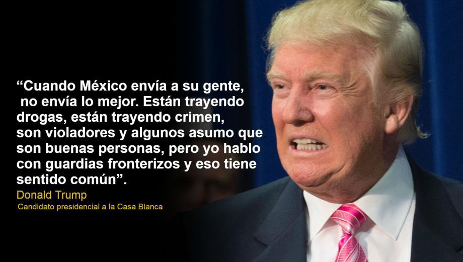 Las polémicas frases de Trump sobre los inmigrantes latinos