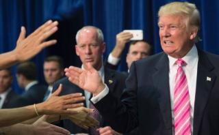 """Donald Trump promete ser """"justo pero firme"""" con inmigrantes"""