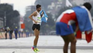 Río 2016: maratonista sufrió terrible dolor pero llegó a meta