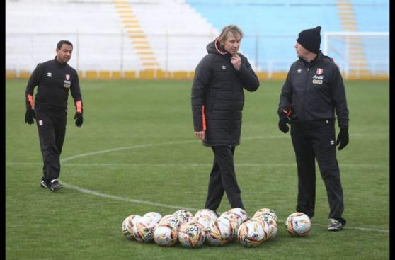 Selección peruana: el primer día de prácticas en Cusco [FOTOS]