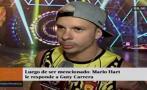 Mario Hart se pronunció sobre mención en audios de Guty Carrera