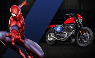 Las motos de Harley-Davidson inspiradas en Marvel [FOTOS]