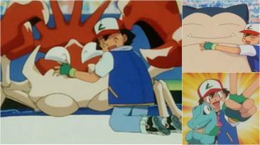 Los pokémones que Ash encargó al Profesor Oak en Pokémon