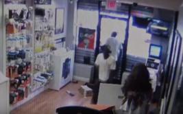Ladrones quedaron atrapados en la tienda que habían robado