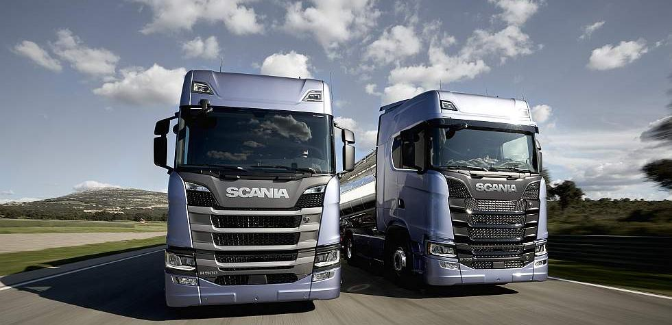 Scania presentó su nueva generación de camiones [VIDEO]
