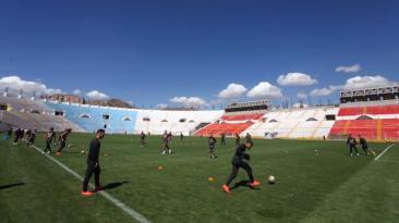Selección peruana continúa con plan de aclimatación en Cusco