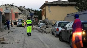 Terremoto en Italia: Al menos 6 muertos y edificios derrumbados