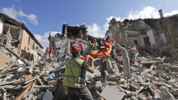 Terremoto en Italia: Al menos 60 muertos y edificios destruidos