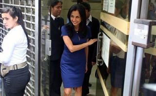 Nadine no acudió a fiscalía por caso de usurpación de funciones