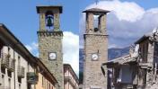 Terremoto en Italia: Antes y después de los pueblos destruidos