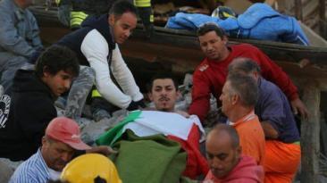 """Terremoto en Italia: Versiones sobre el """"peruano rescatado"""""""