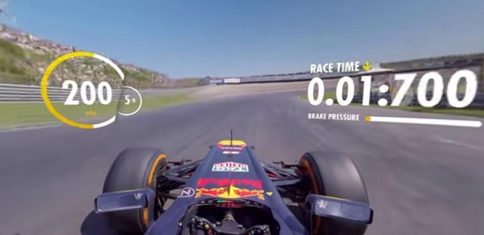 Fórmula 1: Vive una experiencia 360 grados [VIDEO]