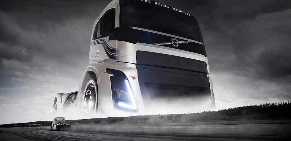 Volvo batió dos récords de velocidad con su Iron Knight [VIDEO]