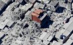 Terremoto en Italia: Destrucción vista desde el aire [VIDEOS]