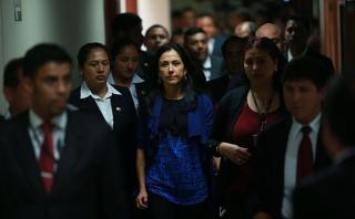 Nadine Heredia: en el Congreso piden investigarla por 120 días
