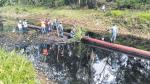 Loreto: aún no determinan impacto de 5ta fuga de crudo del año - Noticias de accidente