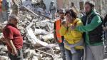 """Terremoto en Italia: """"Parecía el infierno de Dante"""" - Noticias de personas fallecidas"""