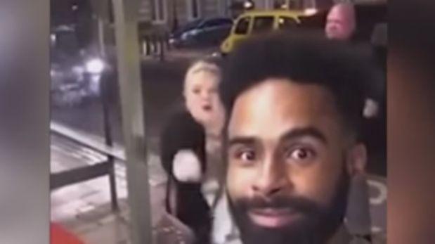 Hombre grabó a una pareja discutiendo y fue descubierto [VIDEO]