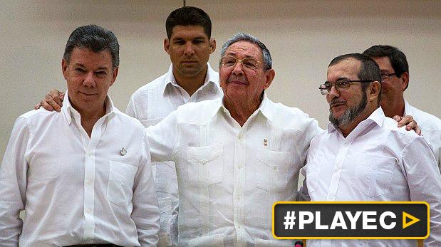 Histórico: Colombia y las FARC anunciaron acuerdo final de paz
