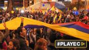 Colombianos celebraron el acuerdo de paz con las FARC [VIDEO]