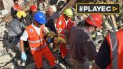 Italia: Buscan contra reloj a desaparecidos tras el terremoto