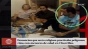 Chorrillos: rescatan 3 niños de secta que esperaba apocalipsis