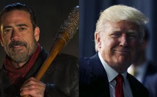 """""""The Walking Dead"""": actor compara a Negan con Donald Trump"""