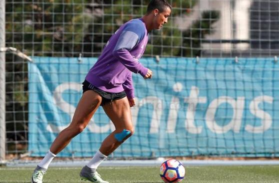 Cristiano Ronaldo y Bale entrenaron antes de viajar a Mónaco