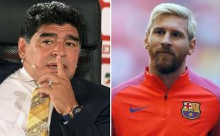 """Maradona sugiere que renuncia de Messi fue un """"montaje"""""""