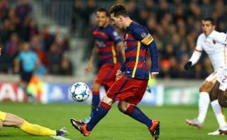Lionel Messi marcó el mejor gol de la temporada para la UEFA