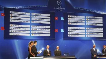 Champions League: así quedaron los grupos tras sorteo en Mónaco