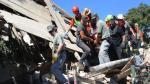 Italia: Rescatan a niña que estuvo 16 horas bajo los escombros - Noticias de muertos