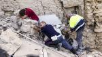 Las dramáticas labores de rescate tras el terremoto en Italia - Noticias de personas fallecidas