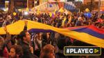 Colombianos celebraron el acuerdo de paz con las FARC [VIDEO] - Noticias de eddy lozano