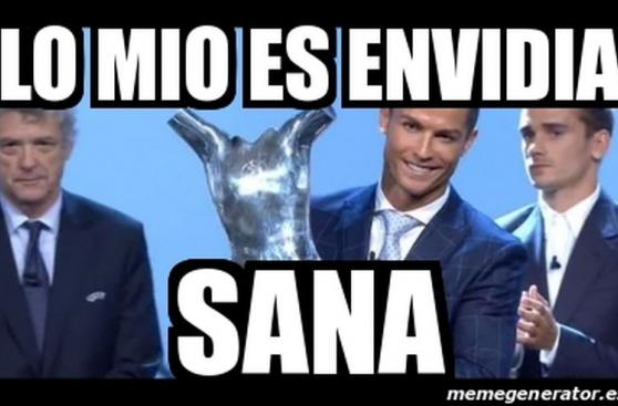 Cristiano Ronaldo: memes del premio al Mejor Jugador de Europa