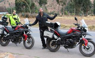 Mexicanos partieron de Cusco hacia México en moto
