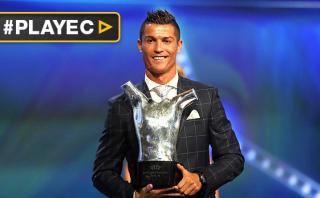 Cristiano Ronaldo fue elegido Mejor Jugador de Europa [VIDEO]