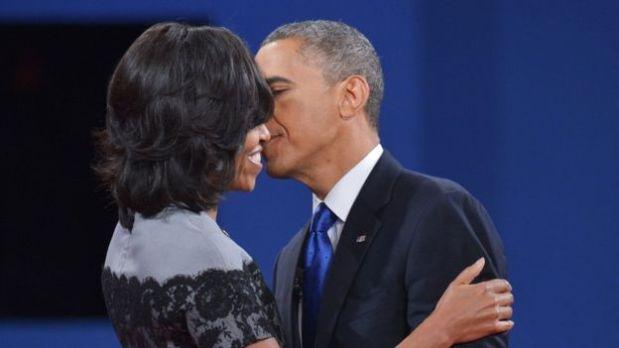 Los Obama no esconden su afecto en público. (Foto: BBC)