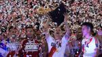 River Plate: así festejó el bicampeón de la Recopa Sudamericana - Noticias de marcelo gallardo
