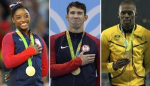 ¿Qué hacen Biles, Phelps y Bolt tras Río 2016?