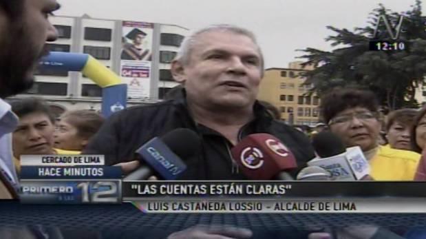 La molesta respuesta de Luis Castañeda sobre interpelación
