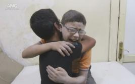 Siria: llanto de estos niños retrata la espantosa guerra